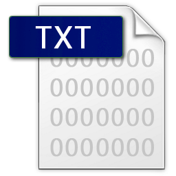 Retrieve deleted text files